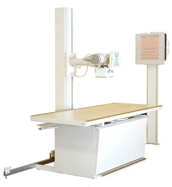 Aparelho de raio x convencional e digital