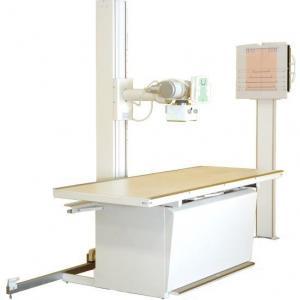 Equipamento de raio x hospitalar